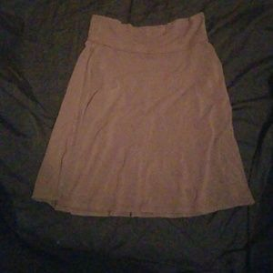 Gap Body brown skirt size large yoga style